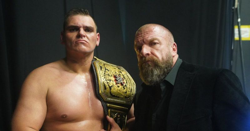 WALTER and Triple H.