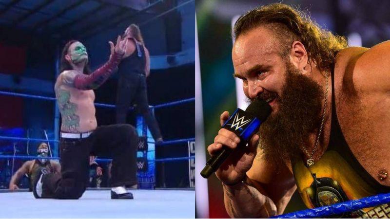 Braun Strowman laid out a unique challenge for Bray Wyatt