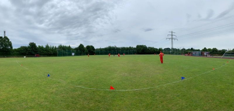 The ECS T10 League kicked off in Kummerfeld on Monday (Image Credit: European Cricket on T