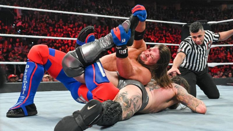 Styles is the only Superstar to have pinned Aleister Black on the main roster so far.