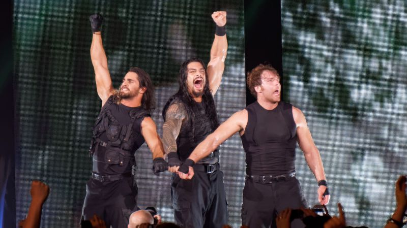 The Shield in WWE - Roman Reigns, Dean Ambrose, and Seth Rollins
