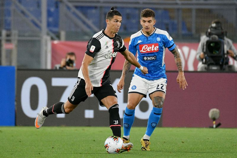 Cristiano Ronaldo put in a disappointing performance against Napoli