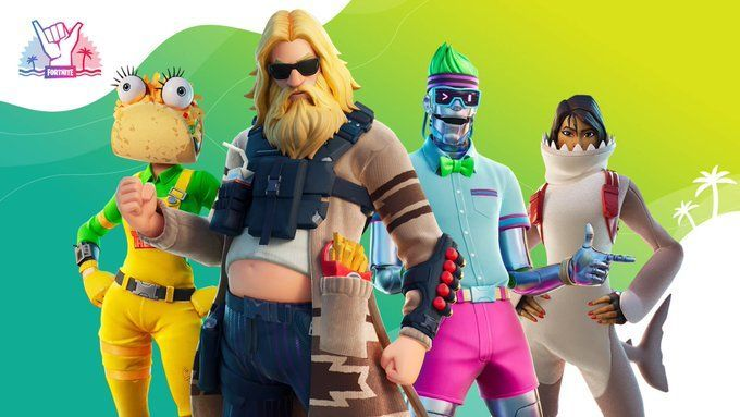The following skins are expected to feature during the Fortnite Summer event 2020 (Image Credits: Epic Games)