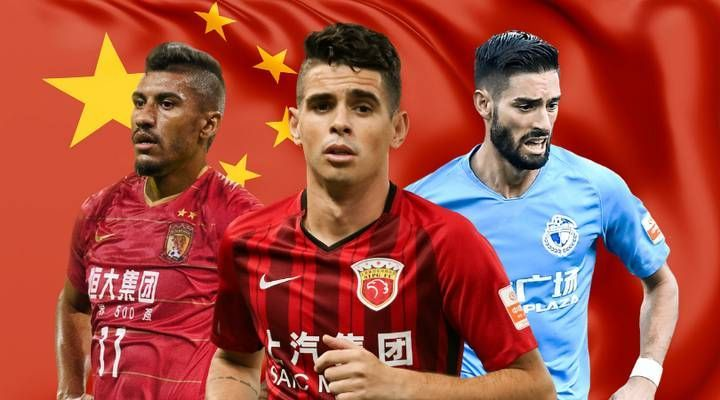 The lucrative Chinese Super League