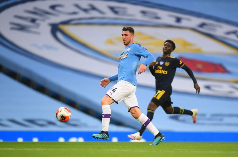 Aymeric Laporte has been a rock in defence for Manchester City