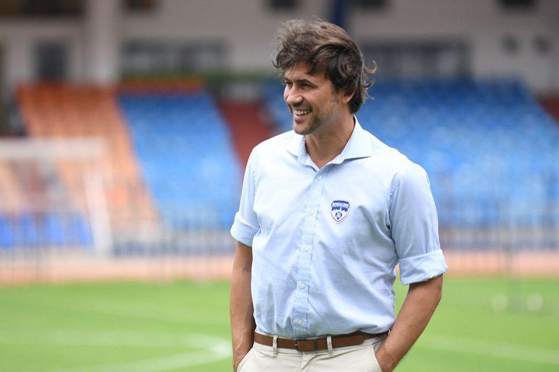 Carles Cuadrat, the Bengaluru FC coach.