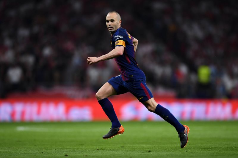 Andres Iniesta is a good instance of a leader who led by example.
