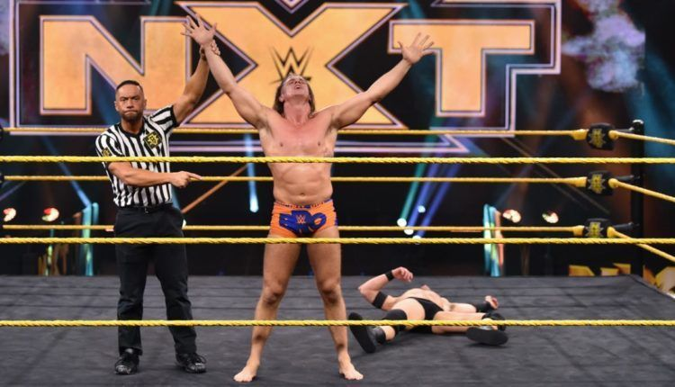 Matt Riddle met with Vince McMahon much before his debut
