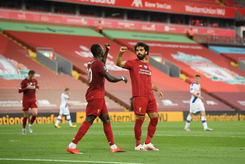Sadio Mane and Mohamed Salah should lead the line for Liverpool once again