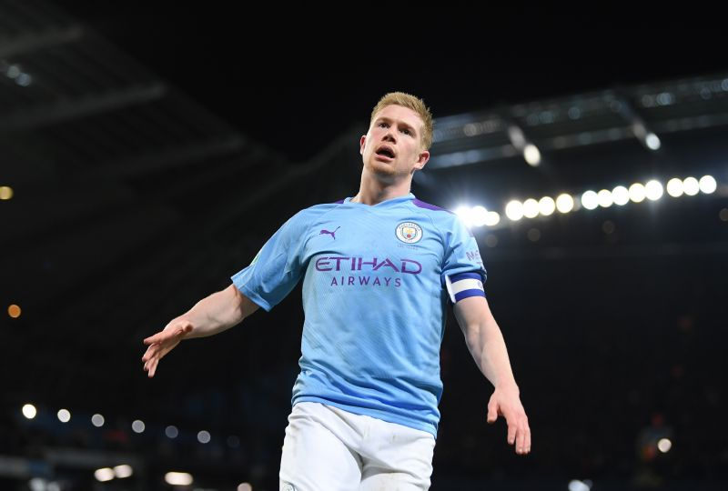 Kevin de Bruyne has on fire this season