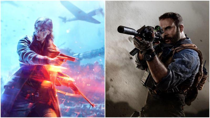 Battlefield v Call of Duty
