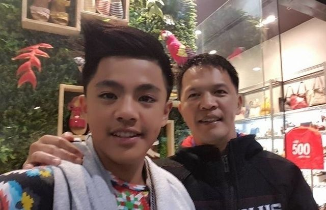 Mark Sangiao and his son / Credit: Mark Sangiao