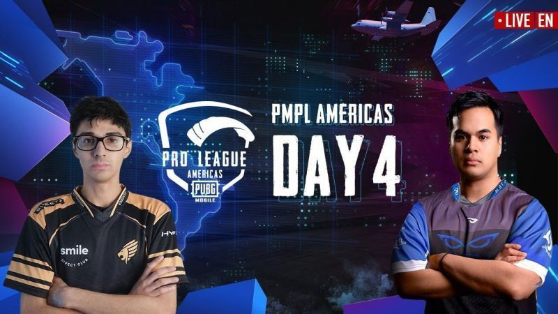 XQ Gaming maintained their lead after Day 4 of the PMPL Americas (Picture Courtesy: PUBG Mobile eSports/YT)