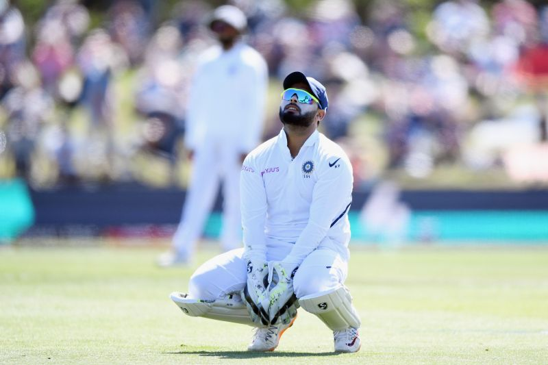 Indian wicketkeeper Rishabh Pant.