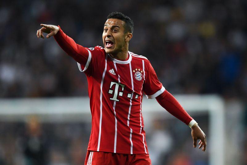 Thiago struggled with injuries towards the second half of the Bundesliga season