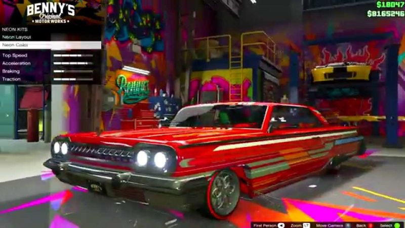 Fully Upgraded Declasse Voodoo in GTA V (picture credits: only for bikes, youtube)