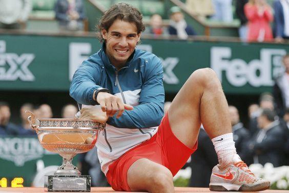 19 time grand slam champion Rafael Nadal