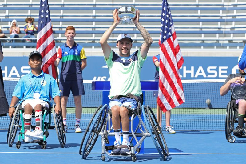 Dylan Alcott at the 2019 US Open