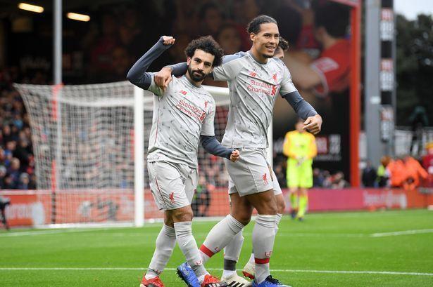 Mohamed Salah (left) and Virgil Dijk were instant hits at Liverpool.