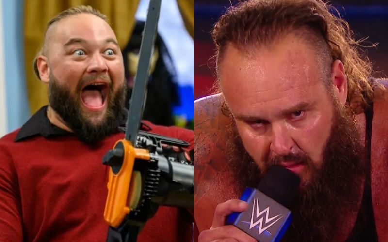 Bray Wyatt and Braun Strowman will lock horns at the upcoming PPV