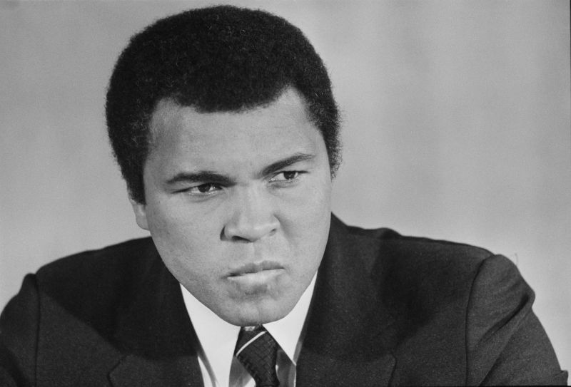 Muhammad Ali, considered to be the greatest boxer of all time, was also a strong, vocal personality.