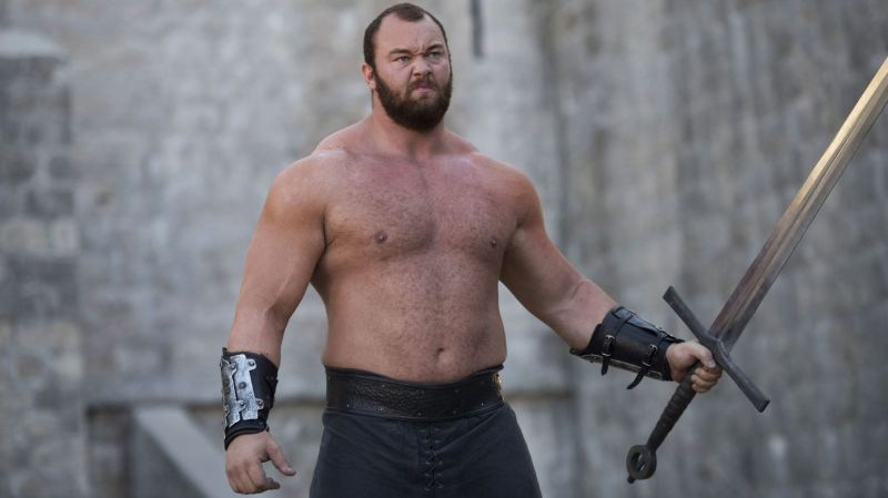 Hafthor Julius Bjornsson from Game of Thrones