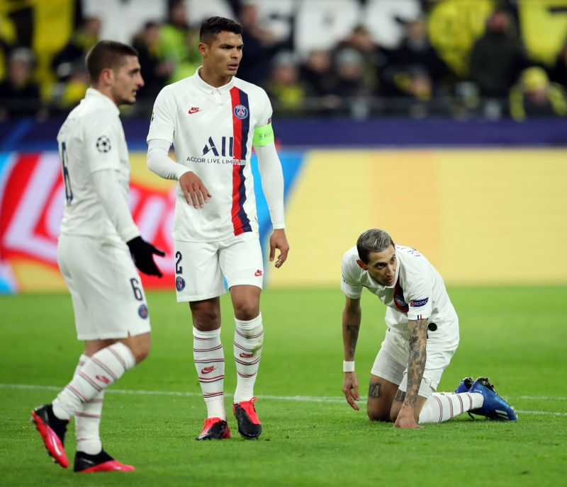 Thiago Silva has been linked with a move to the EPL after his contract expires at PSG.