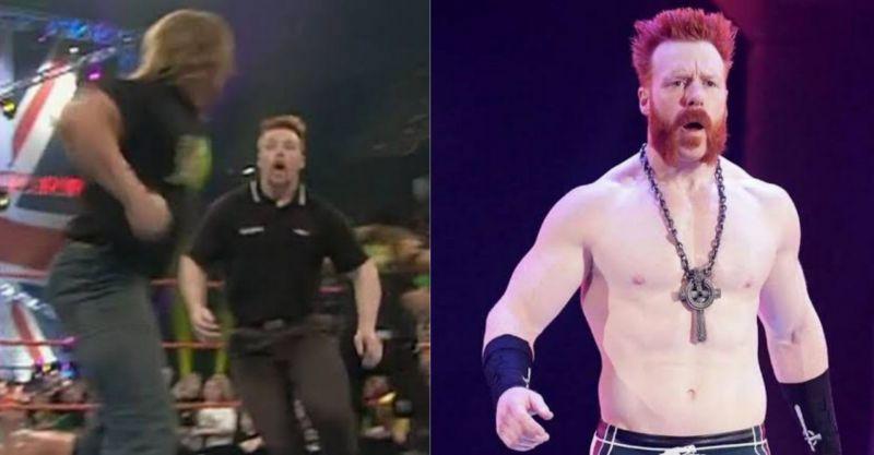 शेमस WWE में सिक्योरिटी गार्ड के रूप में काम कर चुके हैं