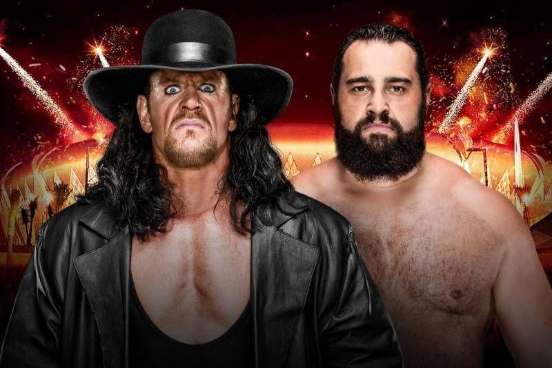WWE सुपरस्टार द अंडरटेकर - रुसेव