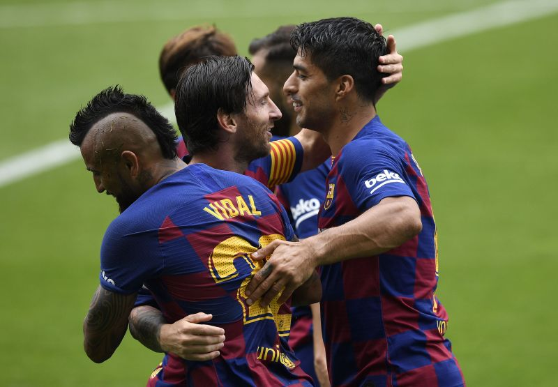 Lionel Messi and Luis Suarez did their bit against Celta Vigo
