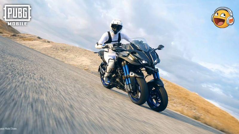 Yamaha bike skin in PUBG Mobile (Image Credits: LuckyMan)