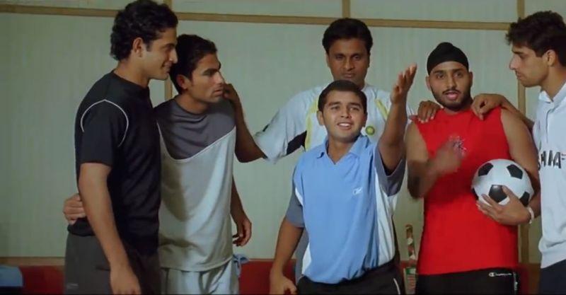इरफान पठान, मोहम्मद कैफ, पार्थिव पटेल, जवागल श्रीनाथ, हरभजन सिंह और आशीष नेहरा