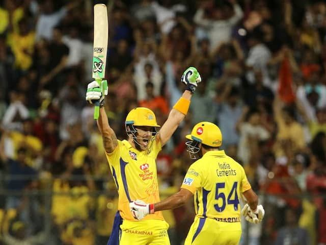 Faf du Plessis after taking CSK to the IPL 2018 final