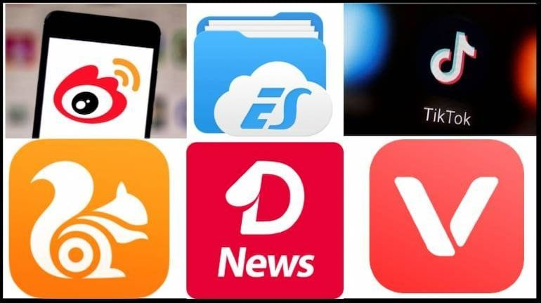 Few Chinese apps that the Indian government banned (Image: Moneycontrol)