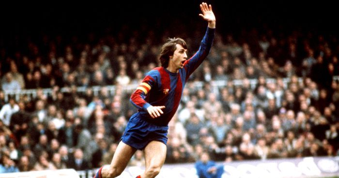 Despite being Dutch, Johan Cruyff inspired Catalan pride during his time at Barcelona