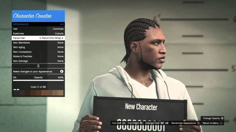 GTA Online had a great character creation suite