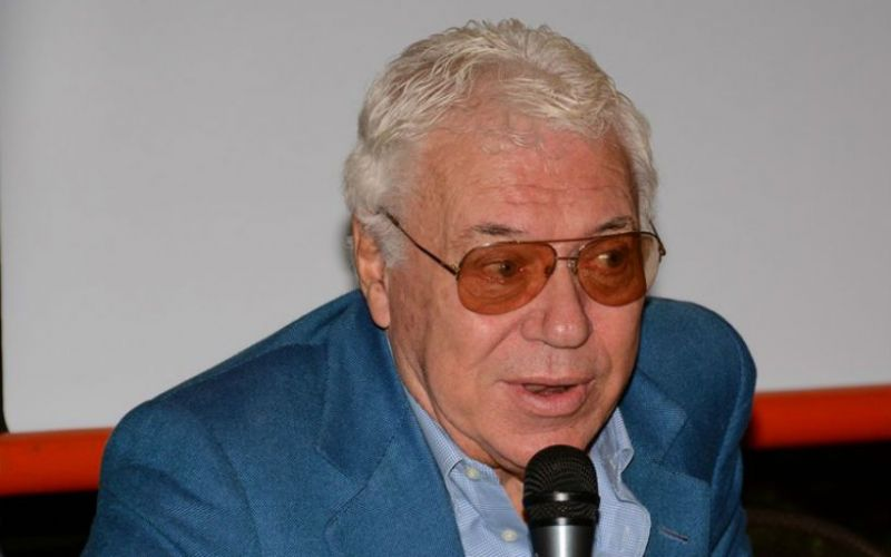 Former two-time French Open champion Nicola Pietrangeli