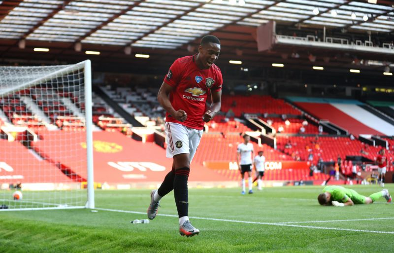 Martial was unplayable in the Red Devils