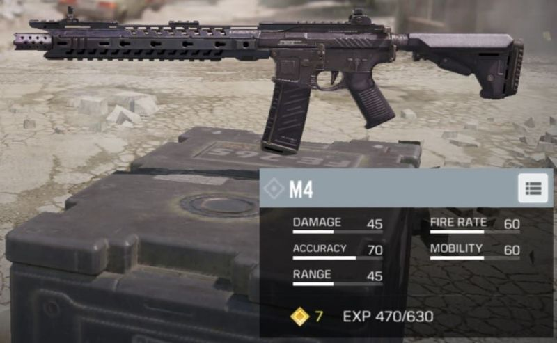 M4 in Call of Duty