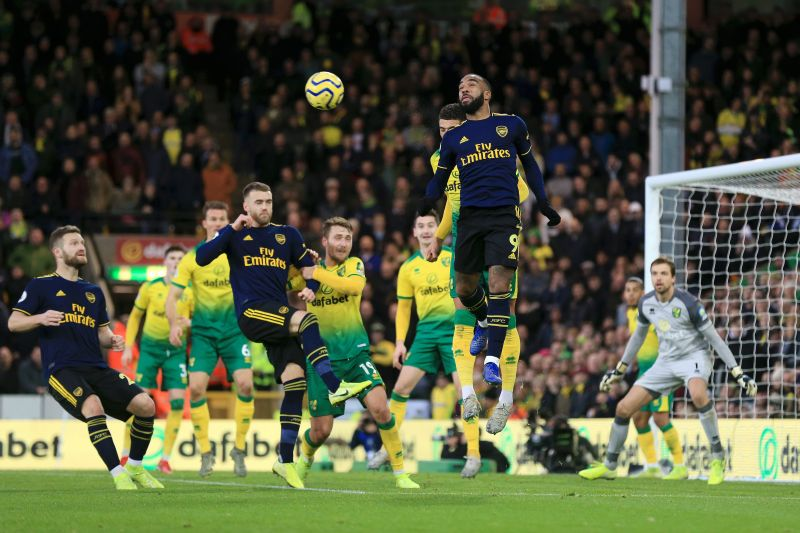 Arsenal and Norwich