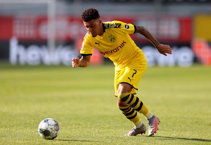 Jadon Sancho contributed 17 goals and 16 assists in the 2019-20 Bundesliga, making him the only player in Europe