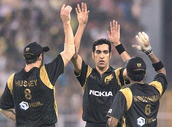 Umar Gul played for KKR in the inaugural season of the IPL