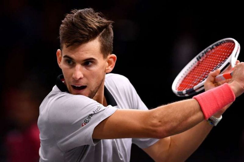 It seems even a pandemic cannot keep Dominic Thiem away from tennis