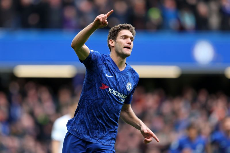 Lampard may look to replace Marcos Alonso with a more defensive left-back at Chelsea this summer