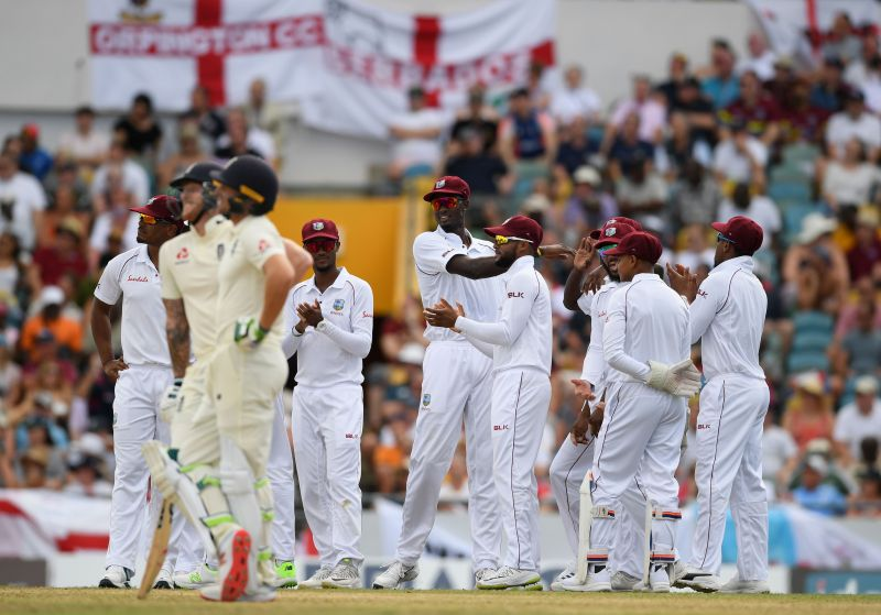 West Indies v England - 1st Test: Day Two