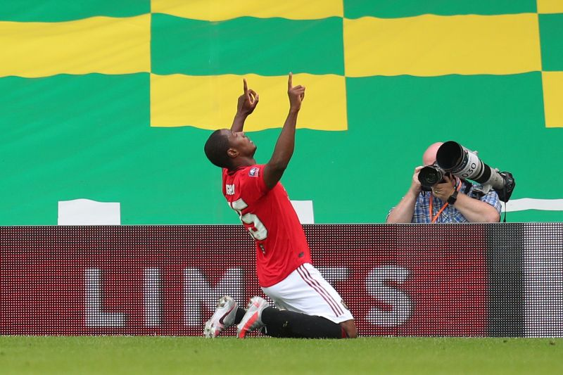 Ighalo scored a clever opener for United