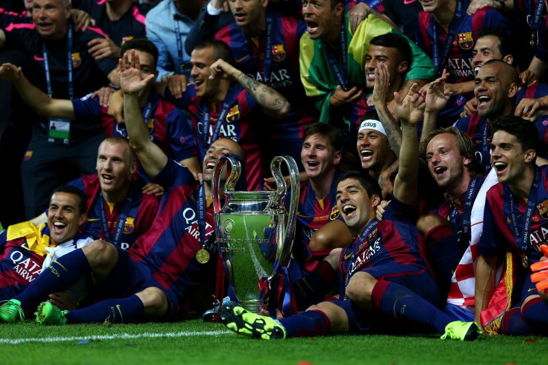 Neymar was a key part of the Barcelona side that won the Champions League in 2014-15