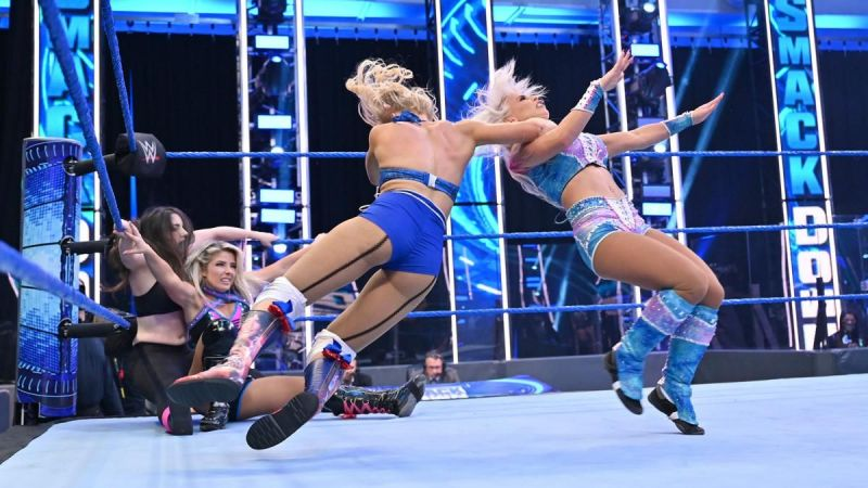 Will a few changes help Lacey Evans in WWE?