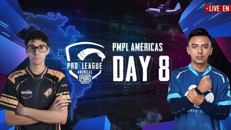PMPL Season 1 Day 8 standings (Picture courtesy: PUBG Mobile eSports/YT)