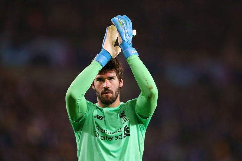 Alisson has been simply magnificent this term